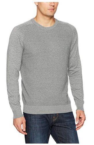 白菜价!IZOD 12gg 男士圆领长袖混纺毛衣1.6折 7.97加元起清仓!多色可选!