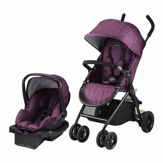 历史最低价!Evenflo Sibby 婴儿推车+婴儿提篮旅行套装6折 198.99加元包邮!2色可选!