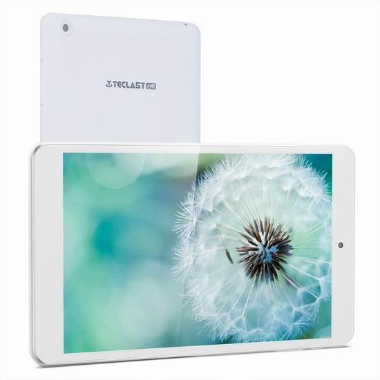 历史新低!Teclast 台电 P80H 8英寸IPS高清屏平板电脑(1G/8GB)3.7折 49.99加元包邮!