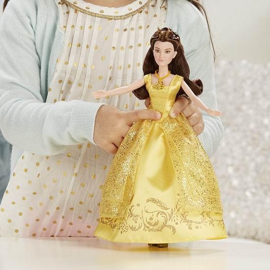 历史新低!Disney 迪士尼 Beauty and the Beast 美女与野兽 会唱歌的贝儿公主2.2折 9.01加元清仓!