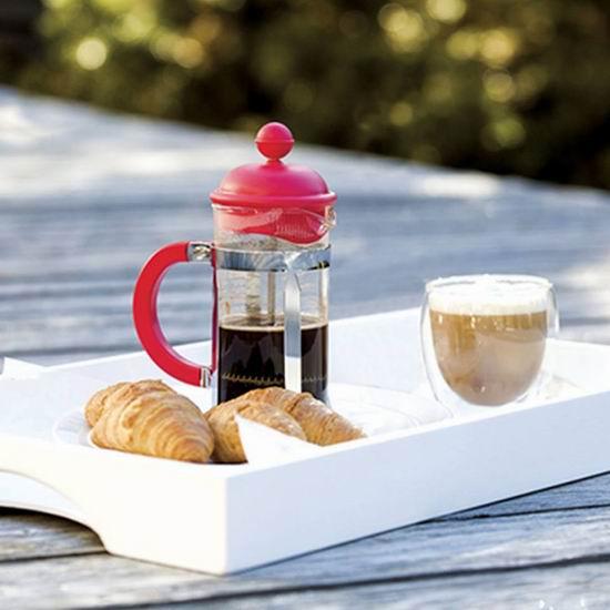 精选 Bodum 双层玻璃杯、茶壶、法式压滤壶、不锈钢保温杯等7.5折+包邮!