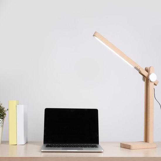 白菜价!AUKEY LED节能护眼台灯 19.99加元清仓!送价值25.99加元二合一USB线!