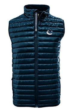 白菜价!Levelwear NHL 国家冰球联盟 男士短袖保暖夹克1.8折 15.03加元起清仓!两色可选!
