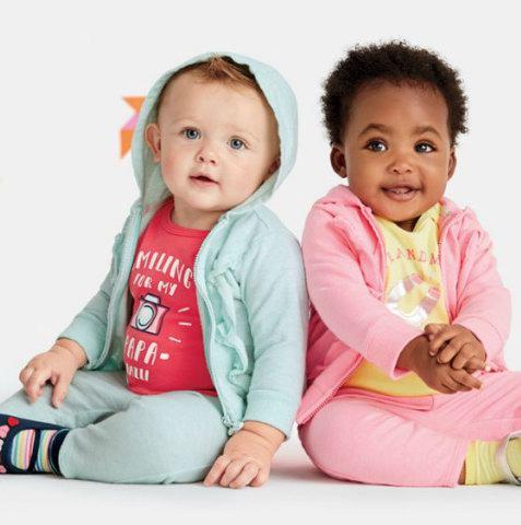 Carter's OshKosh 超级星期六!精选多款婴幼儿及儿童超值套装,全部仅售10加元!