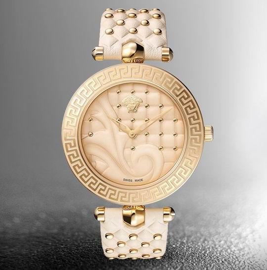 历史新低!Versace 范思哲 VK7020013 Vanitas 经典复古浮雕 女士腕表/手表5折 884.97加元包邮!