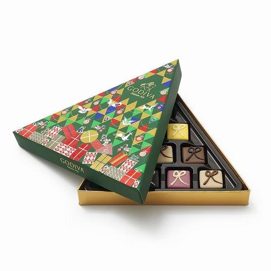 白菜价!Godiva 歌帝梵 Chocolatier 巧克力礼盒10颗装3.4折 12.84加元清仓!