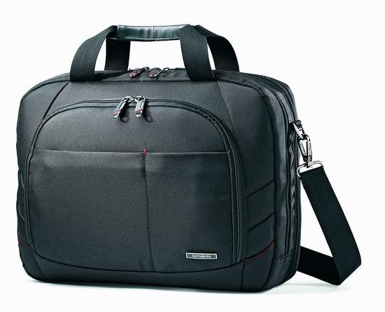 历史最低价!Samsonite 新秀丽 Luggage Xenon 2 17寸大容量 经典商务公文包5.3折 49.99加元包邮!