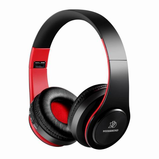 Wediamond E1 无线蓝牙头戴式耳机 14.99加元限量特卖!