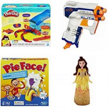 金盒头条:精选33款 Play-Doh、NERF、Hasbro 等品牌儿童玩具、游戏2.3折起特卖!售价低至4.27加元!