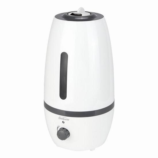 历史新低!Sunbeam SUL1410-CN 2升 超声波冷雾加湿器5折 25加元清仓!