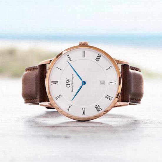 历史新低!Daniel Wellington DW00100083 中性 蓝针简约风格腕表/手表4.4折 128.62加元包邮!