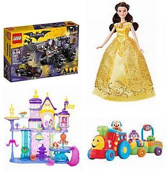 精选上百款 Lego、Disney、Star Wars、Fisher-Price 等品牌儿童玩具、玩偶2折起清仓!售价低至0.99加元!今夜额外8.5折!