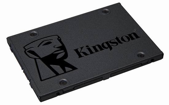 历史新低!Kingston 金士顿 A400 SSD 120GB/240GB SATA 3 2.5寸固态硬盘 24.99-37.99加元!