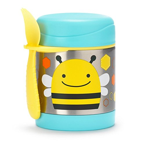 Skip Hop 超萌动物图案 幼儿午餐保温杯 17.24加元!5款可选!