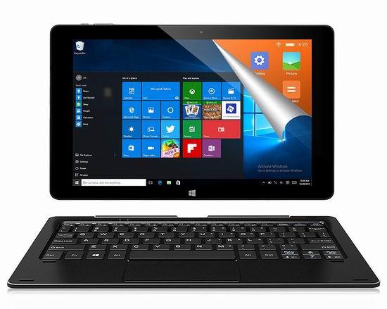 ALLDOCUBE 酷比魔方 iwork10 Pro 双系统 二合一平板电脑(4GB/64GB) 237.99加元包邮!