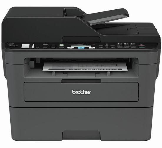 历史最低价!Brother MFCL2710DW 无线多功能四合一 黑白激光打印机6.3折 169.99加元包邮!