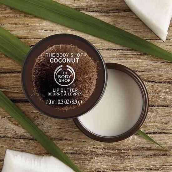 历史新低!The Body Shop 美体小铺 Coconut 椰子唇部滋养霜(10ml)4.6折  2.74加元!
