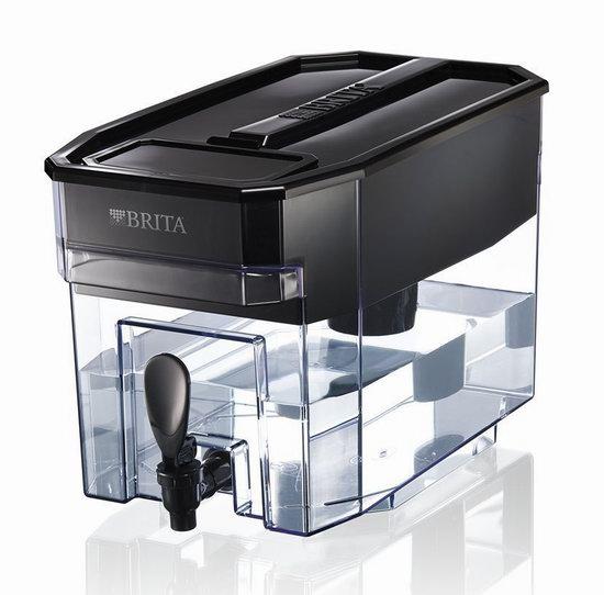 近史低!Brita 德国碧然德 UltraMax 18杯超大容量 黑色家用滤水壶6.1折 45.49加元包邮!