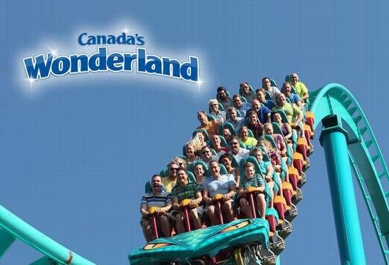 Canada's Wonderland 奇幻乐园 开园大促!门票买一送一!