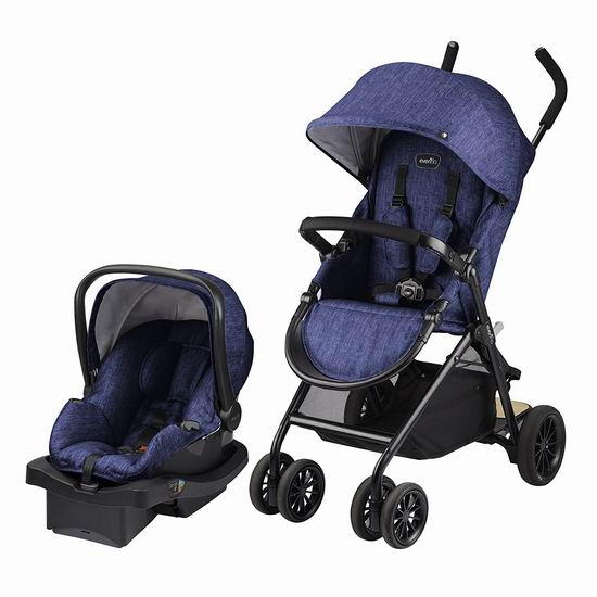 历史最低价!Evenflo Sibby 婴儿推车+婴儿提篮旅行套装6折 198.99加元包邮!