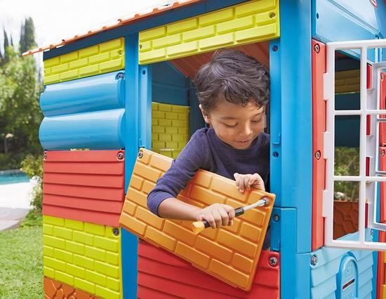 白菜价!历史新低!Little Tikes 小泰克 Build-a-House 儿童DIY玩具小屋2.6折 90.56加元包邮!
