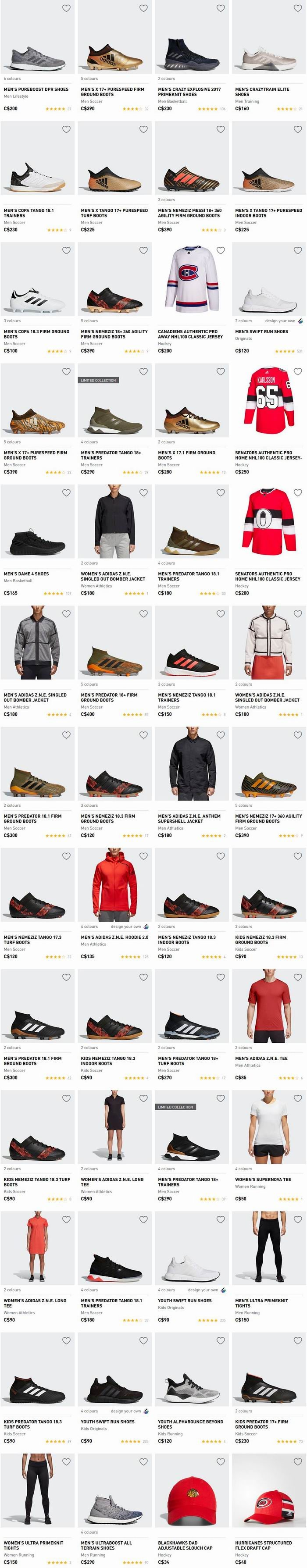 Adidas 精选新款成人儿童运动鞋、运动服等6折起+包邮!红翻天的NMD也打折!