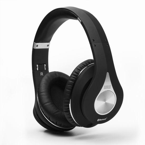 August EP640 无线蓝牙 NFC 头戴式耳机5折 39.75加元限量特卖并包邮!3色可选!