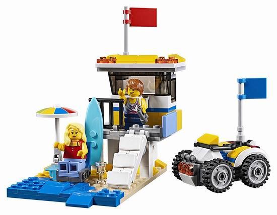 补货!历史新低!LEGO 乐高 31079 创意系列 三合一 阳光海滩房车(379pcs)6折 23.98加元!
