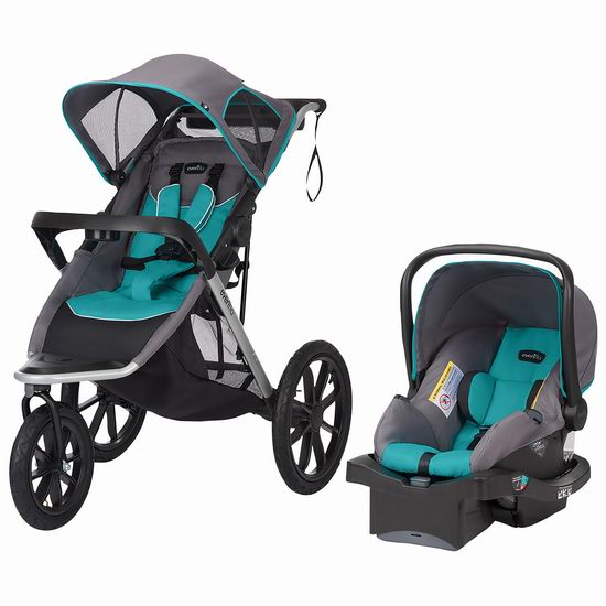 Evenflo Victory Plus大三轮婴儿推车+提篮套装 299.99加元,原价 429.99加元,包邮
