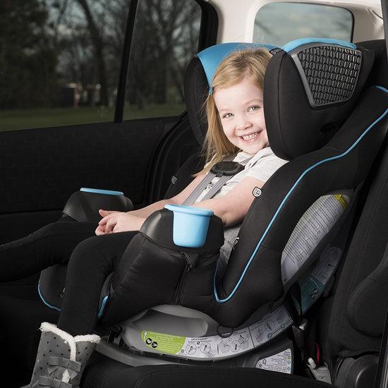 历史最低价!Evenflo SafeMax Platinum 成长型双向儿童汽车安全座椅 249.99加元(2色),原价 368.99加元,包邮