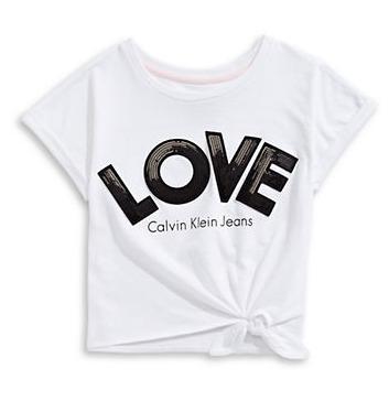 精选 Calvin Klein、Levi's儿童T恤、裙装、衬衣 14加元起特卖!
