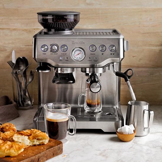 Breville 铂富 BES870BSXL 意式浓缩带磨豆功能一体式咖啡机5.8折 467.49加元包邮!