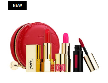 Yves Saint Laurent Red Deluxe迷你口红唇釉超值套装 40加元(价值 69加元)