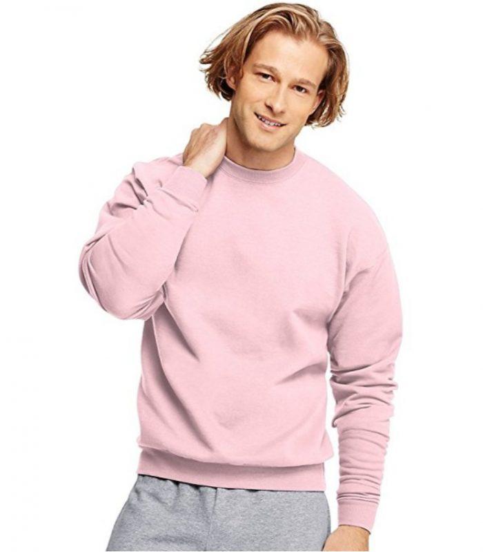 手慢无!Hanes男士Ecosmart长袖运动衫 9.99加元特卖!多色可选!