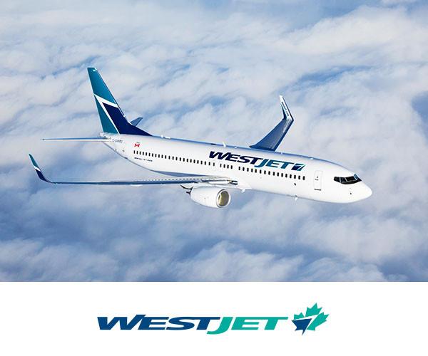 WestJet 西捷航空 限时促销!加拿大境内及飞往美国、欧洲、加勒比航线机票特价销售!