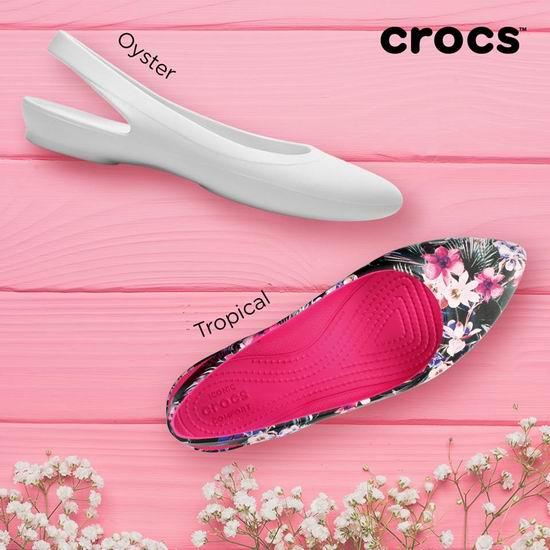 Crocs 卡洛驰洞洞鞋 春季清仓!精选鞋靴2.8折起+额外7.5折!折后低至9.37加元!
