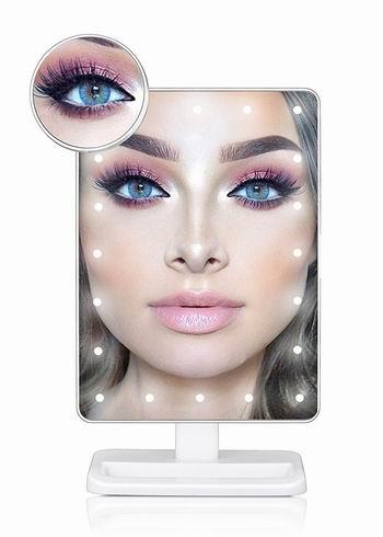 历史新低!TEPSMIGO 20 LED照明 10倍放大 化妆镜 16.99加元!