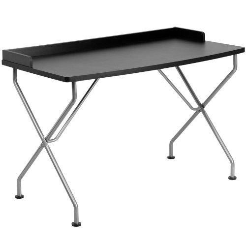 白菜价!历史新低!Flash Furniture NAN-JN-2116-BK-GG 1.2米 电脑桌1.9折 37.79加元包邮!