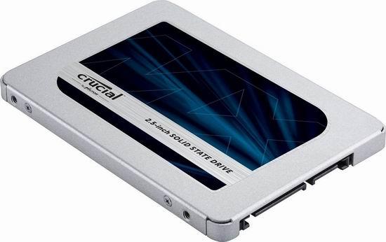 历史新低!Crucial 英睿达 MX500 3D NAND 250GB 2.5英寸固态硬盘 48.99加元包邮!