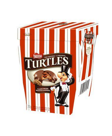 手慢无!Nestle 雀巢 Turtles 乌龟 焦糖+山核桃 牛奶巧克力(350克)2.5折 2.74加元清仓!