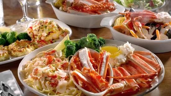 Red Lobster 红龙虾海鲜餐厅 双人就餐,立省3-5元!