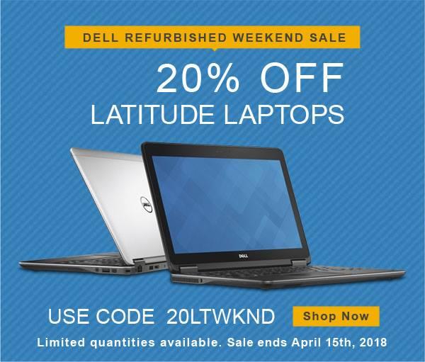 Dell Refurbished 周末闪购!全场戴尔翻新笔记本电脑特价销售,额外8折!折后低至231.2加元!