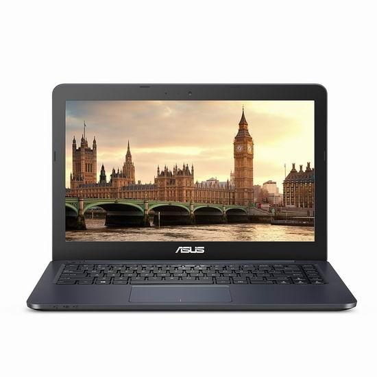 历史新低!ASUS 华硕 L402WA-EH21 14寸 超轻薄笔记本电脑(4GB/32GB) 285.04加元包邮!