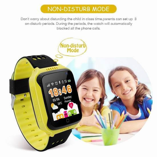超级白菜!手慢无!Diggro M01 GPS定位 2G通话 儿童智能手表1.1折 9.99加元清仓!