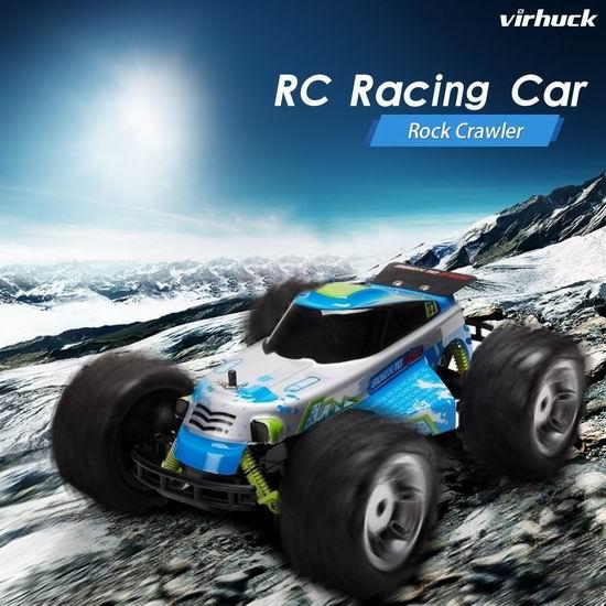 白菜速抢!Virhuck 1/18 2WD RC 超强动力 遥控越野车2折 9.99加元限量特卖并包邮!