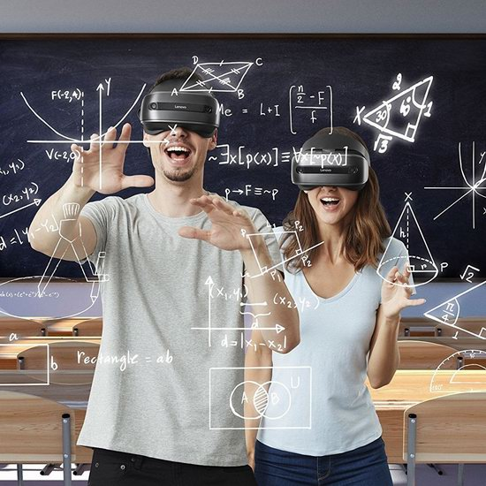 Lenovo 联想 Explorer 探索者 Windows VR虚拟现实头显+VR运动手柄5.4折 299加元包邮!
