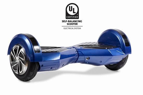 历史新低!HOVERBIRD HBIRD-I5-Blue 自平衡 电动双轮平衡车4.2折 249.89加元包邮!