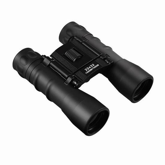 历史新低!Archeer 22x32 便携式双筒望远镜 10.99加元!