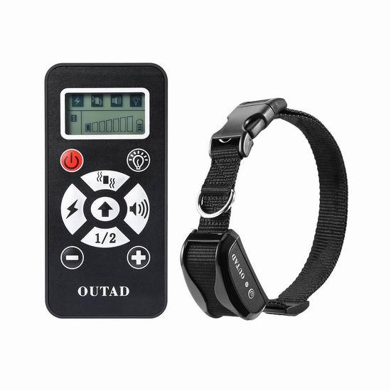 白菜价!手慢无!OUTAD 可充电遥控训狗器2.2折 13加元限量特卖并包邮!