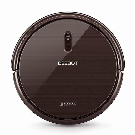 比黑五还便宜13加元!历史新低!升级版 ECOVACS DEEBOT N79S 超强吸力 Wi-Fi智能扫地机器人 216.98加元限量特卖并包邮!